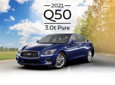 New 2021 INFINITI Q50