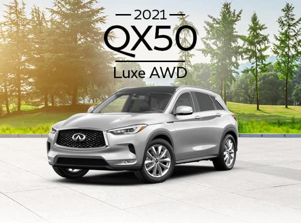 New 2021 INFINITI QX50