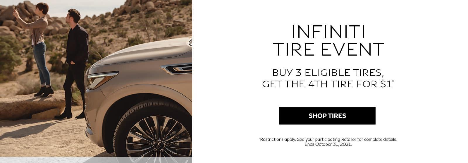 Holman INFINITI Tire Offer