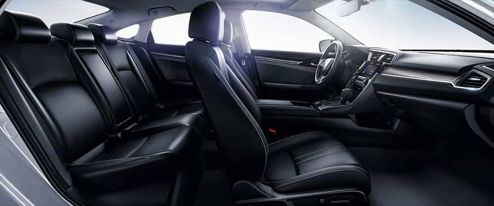 2019-Honda-Civic-Sedan-leather-seating