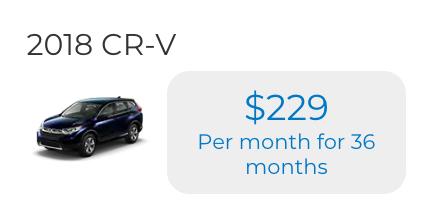 2018 CR-V 2WD