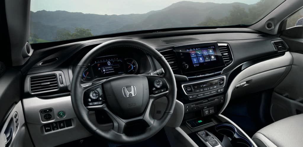 2019 Honda Pilot Interior from Driver's Seat