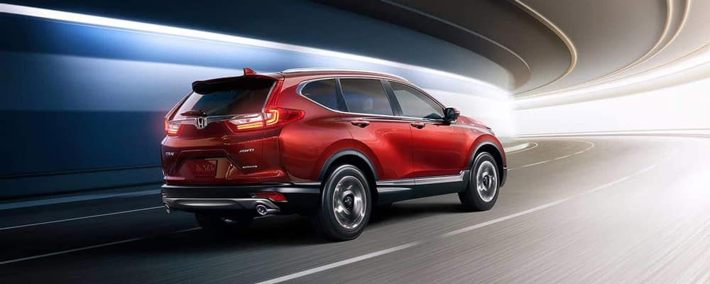2019 Honda CR-V Driving in Tunnel