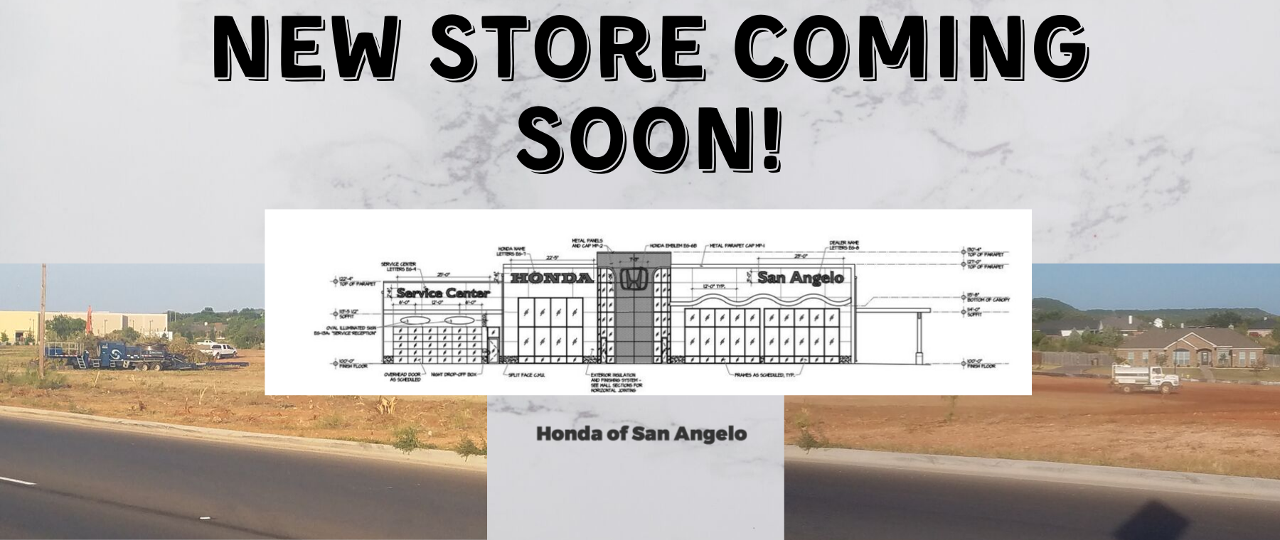New Honda Store Coming Soon