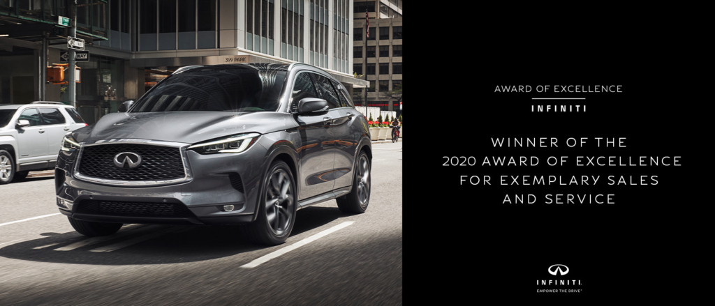 INFINITI of Boerne Award of Excellence 2020