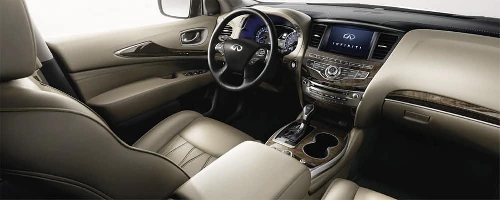 2019 INFINITI QX60 interior
