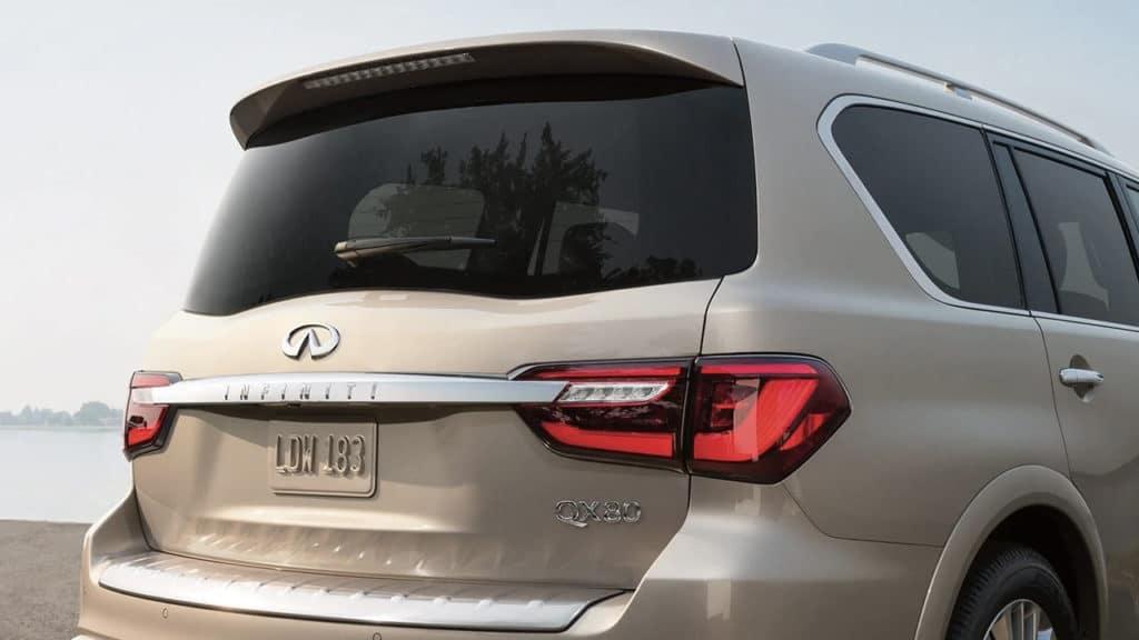 2019 INFINITI QX80 rear exterior
