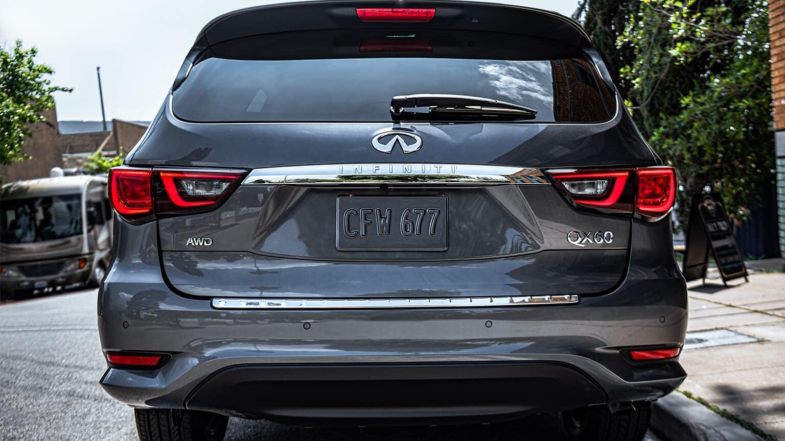 2020 INFINITI QX60 exterior graphite shadow