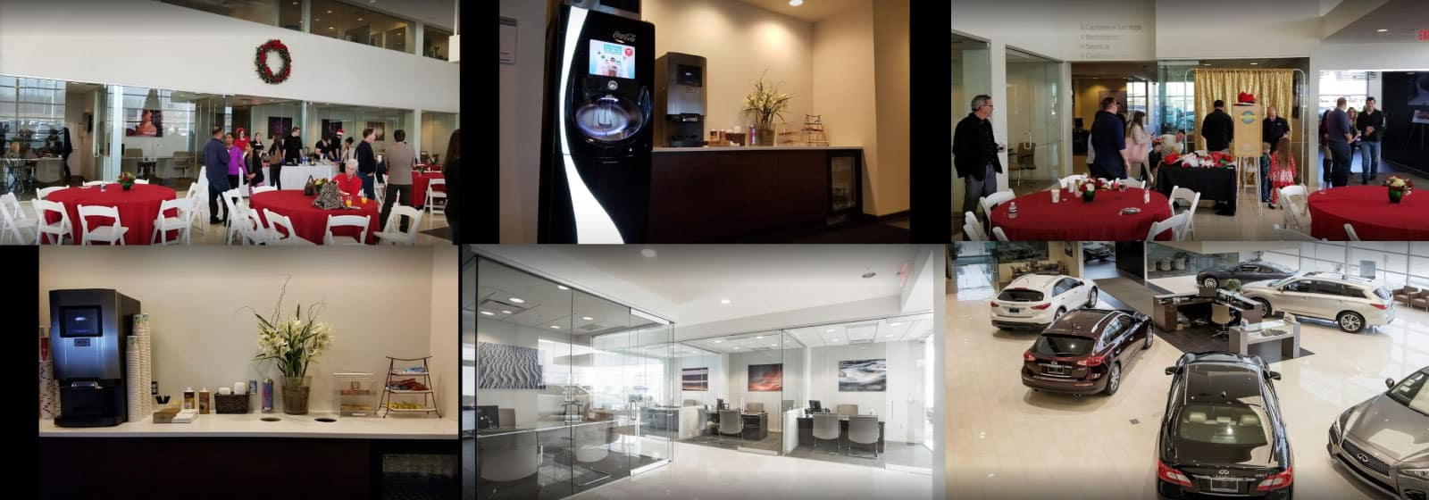 Amenities at INFINITI of Kansas City