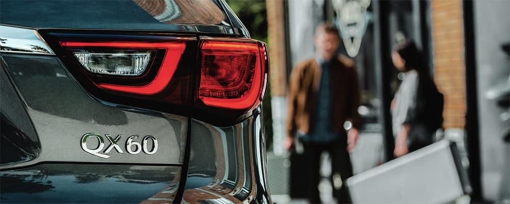 2020 INFINITI QX60 rear view