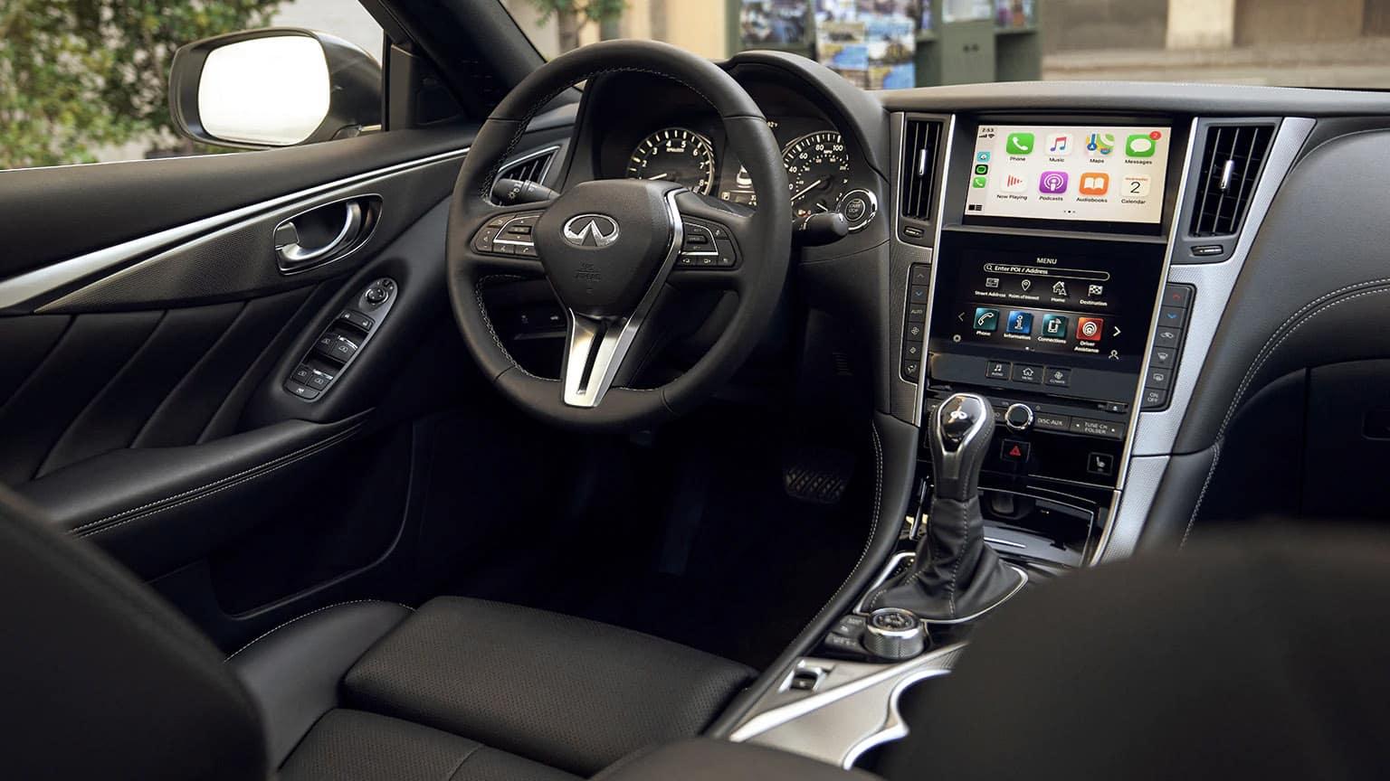2020 INFINITI Q50 interior seating
