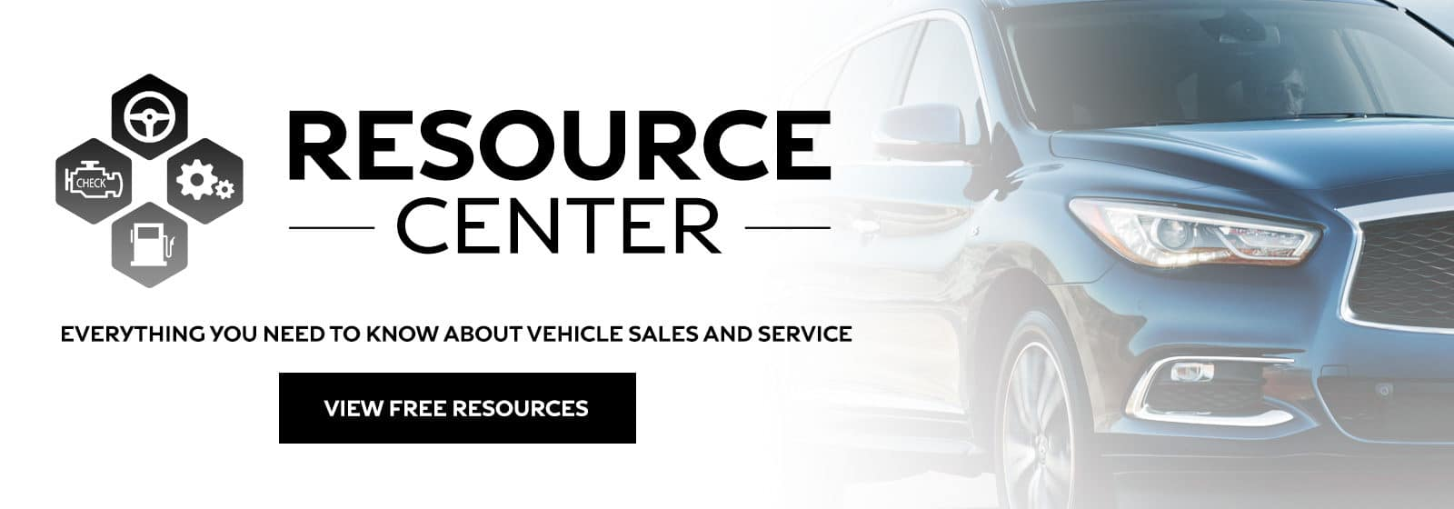 Resource Center - Everything you need to know about vehicle sales and service - View free resources