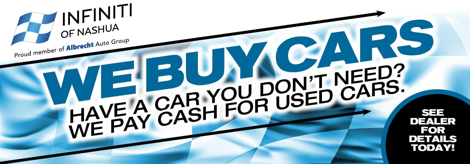 We Buy Cars! We Pay Cash For Used Cars