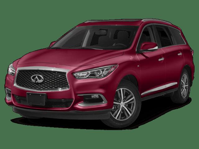 2019 INFINITI QX60 in red