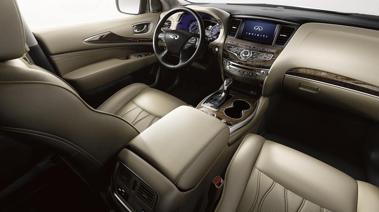 2019 INFINITI QX60 interior in tan