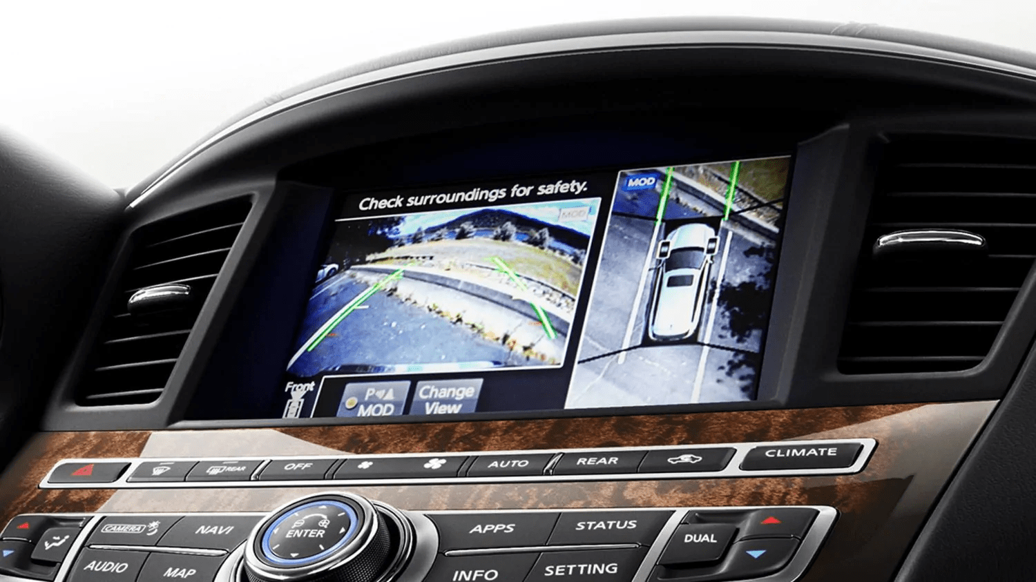 2019 INFINITI QX60 interior safety features