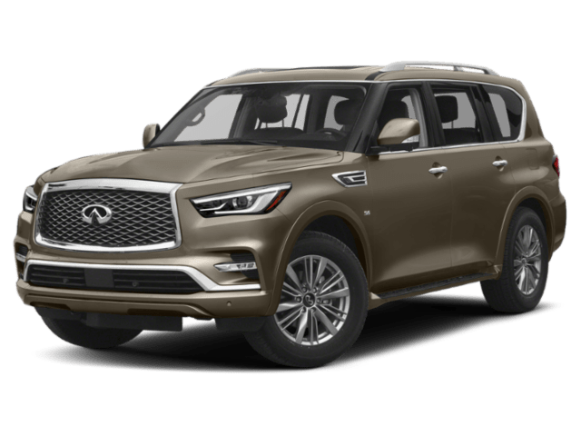 2019 INFINITI QX80 in gold
