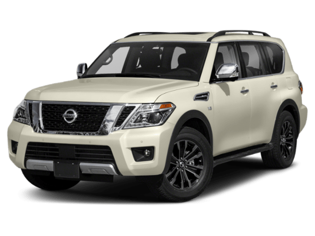 2019 Nissan Armada in white