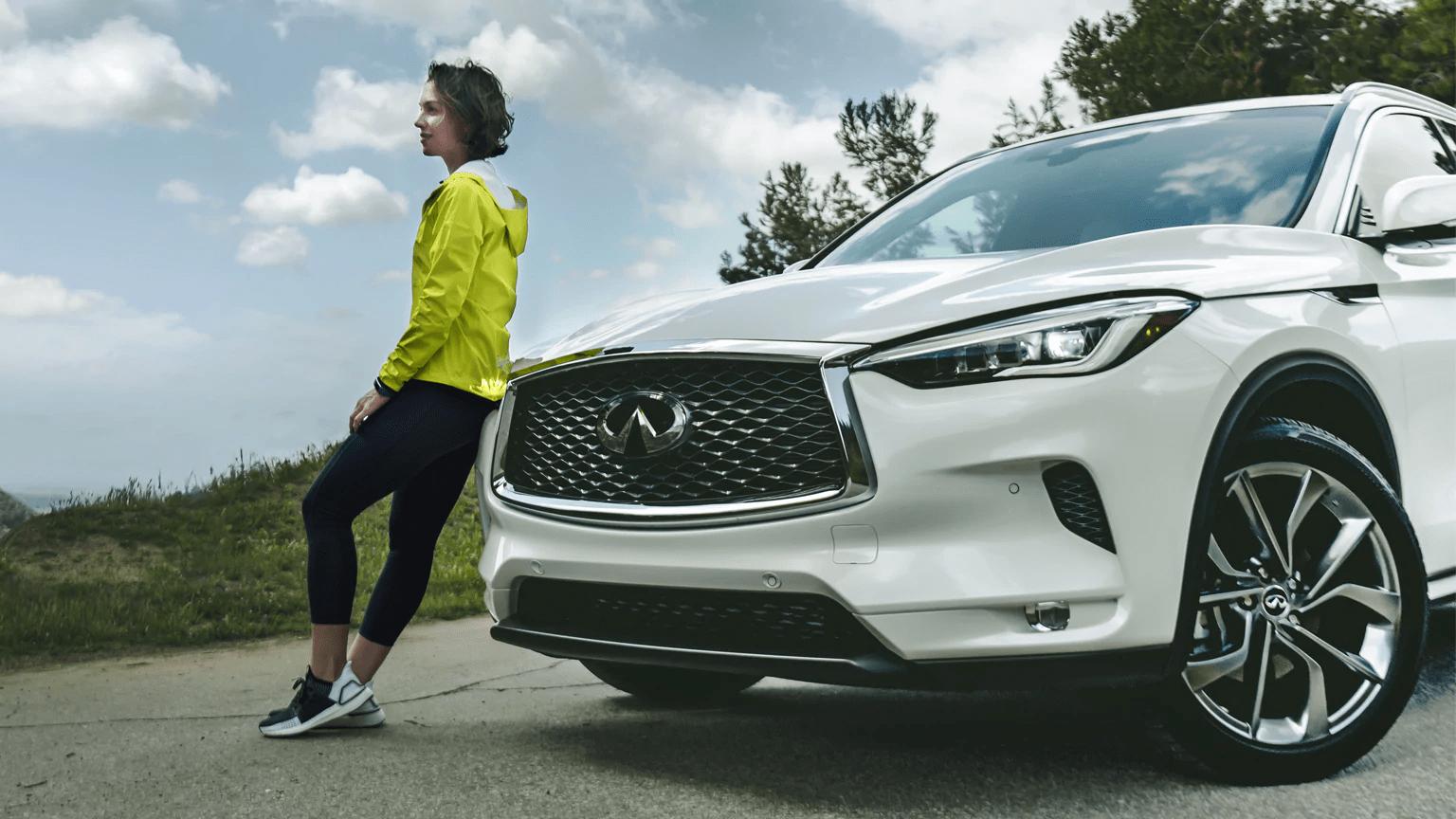 2020 INFINITI QX50 SUV parked