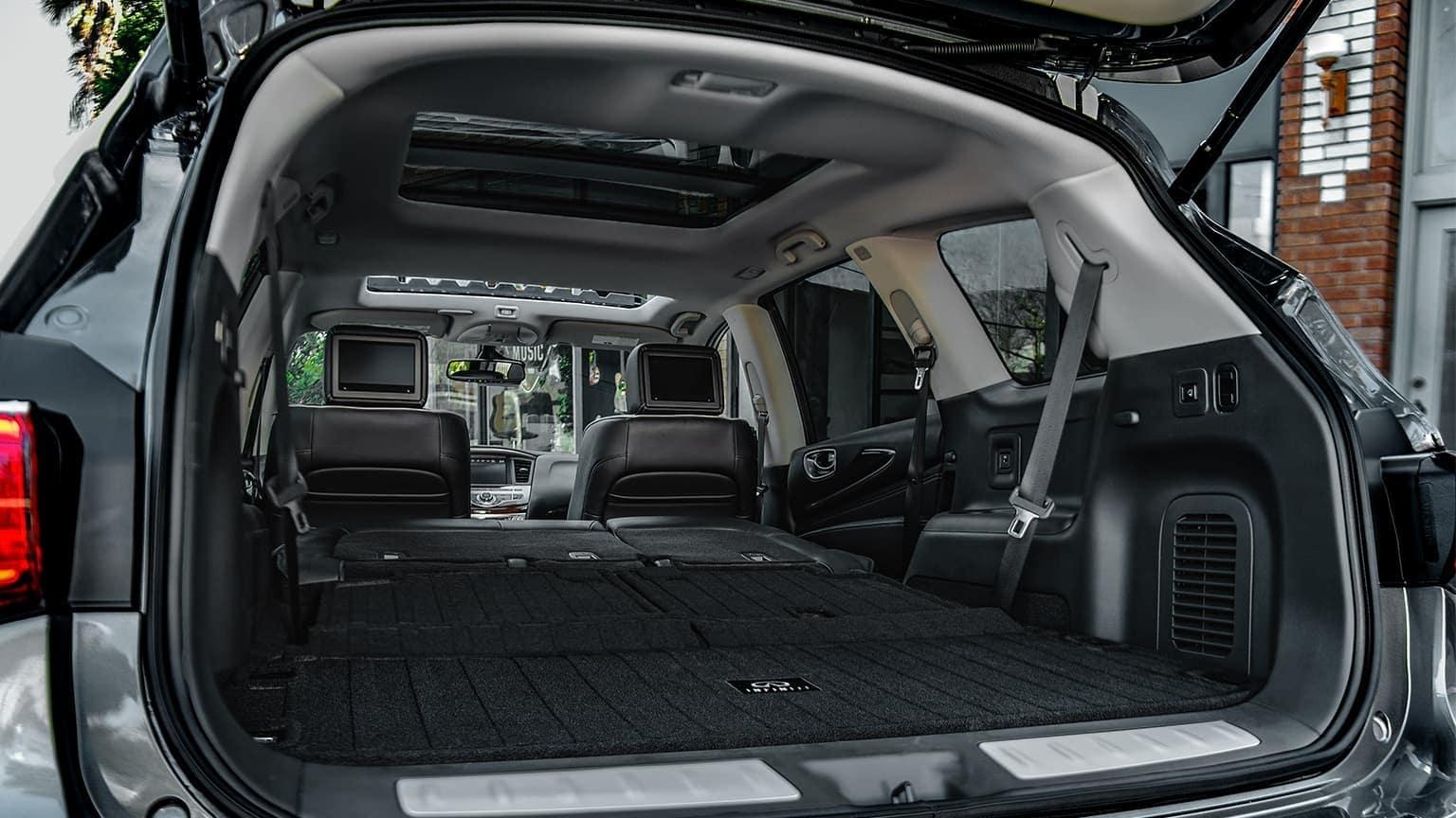 2020 INFINITI QX60 cargo space