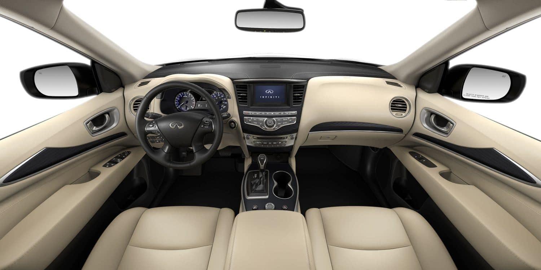 2020 INFINITI QX60 interior front