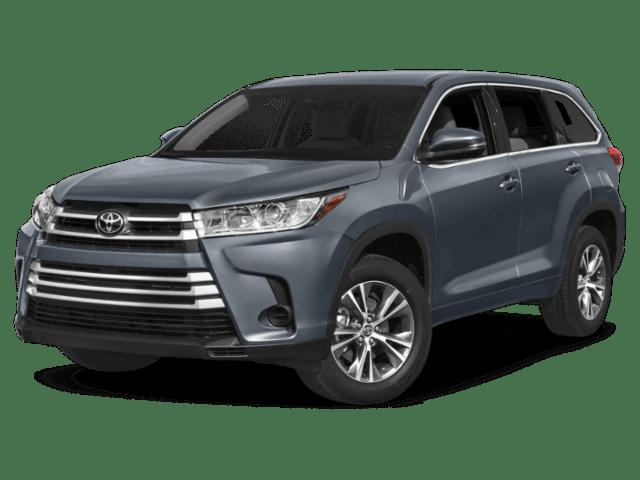 2019 Toyota Highlander in grey