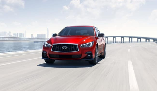 The 2019 INFINITI Q50 has excellent driving performance