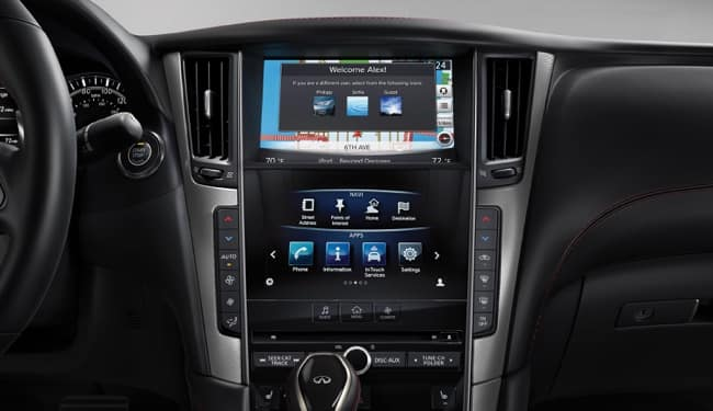 The 2019 INFINITI Q50 has the latest technology features