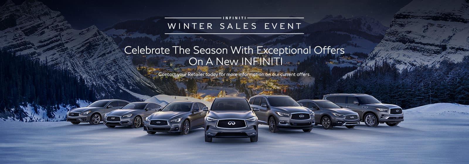 INFINITI Winter Sales Event