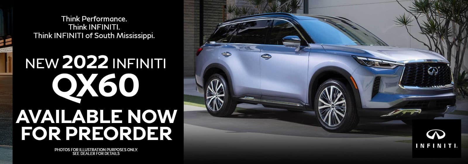 2022 INFINITI QX60 Available now for pre order