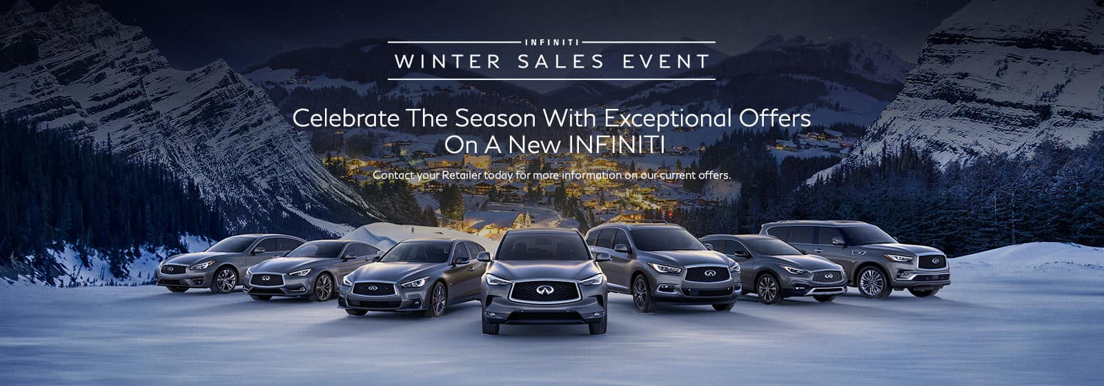 INFINITI Winter Sales Event