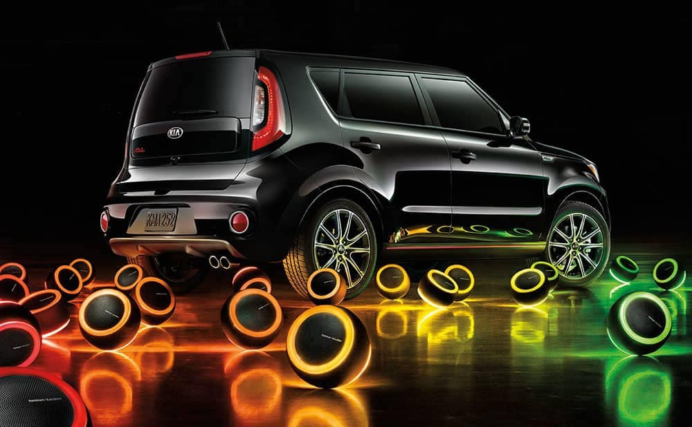2019 Kia Soul with speakers