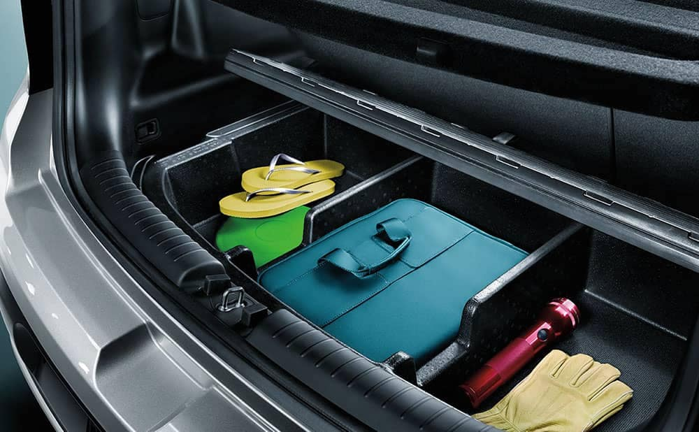 2019 Kia Soul rear luggage