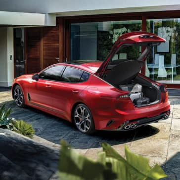 2019 Kia Stinger Open Trunk