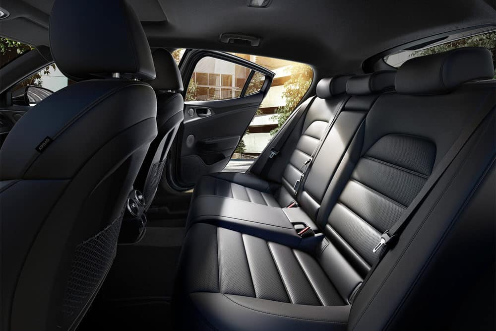 2019 Kia Stinger Seating