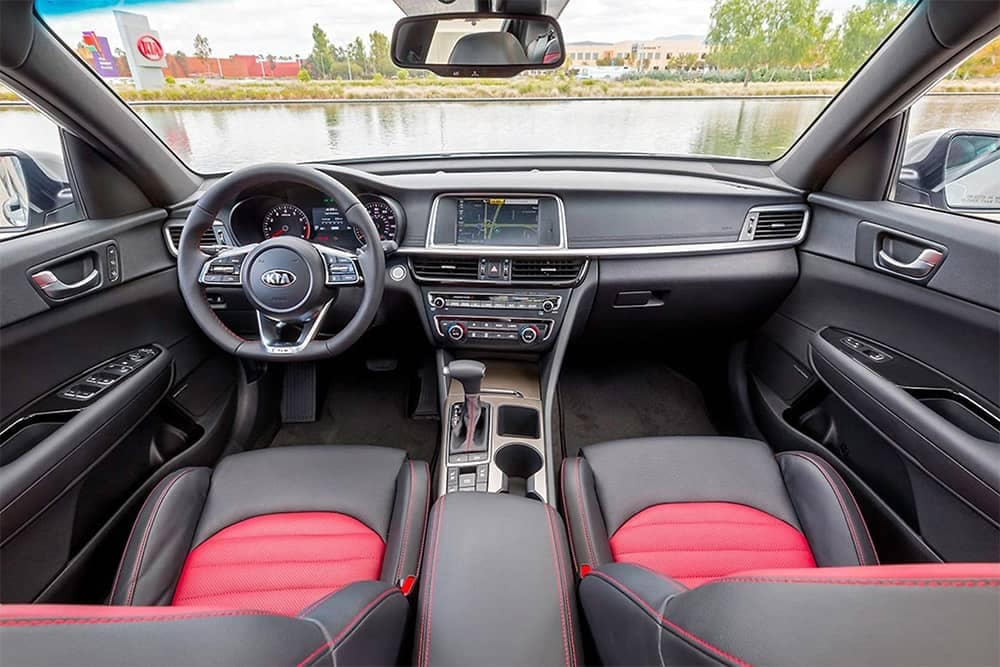 2020 Kia Optima Dash