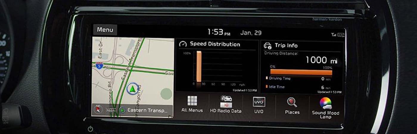 Kia Touchscreen