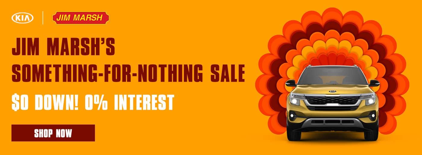 Jim Marsh's Something for Nothing Sale