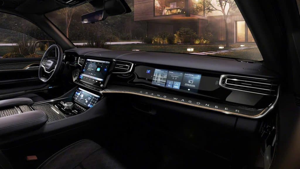 New Wagoneer Interior in OKC