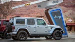 Jeep wrangler 4xe near Edmond Oklahoma