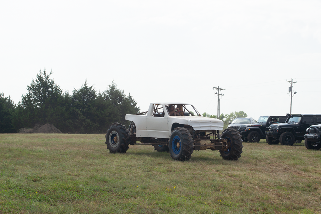 A monster truck in Guthrie, Oklahoma at Midwest Jeepfest