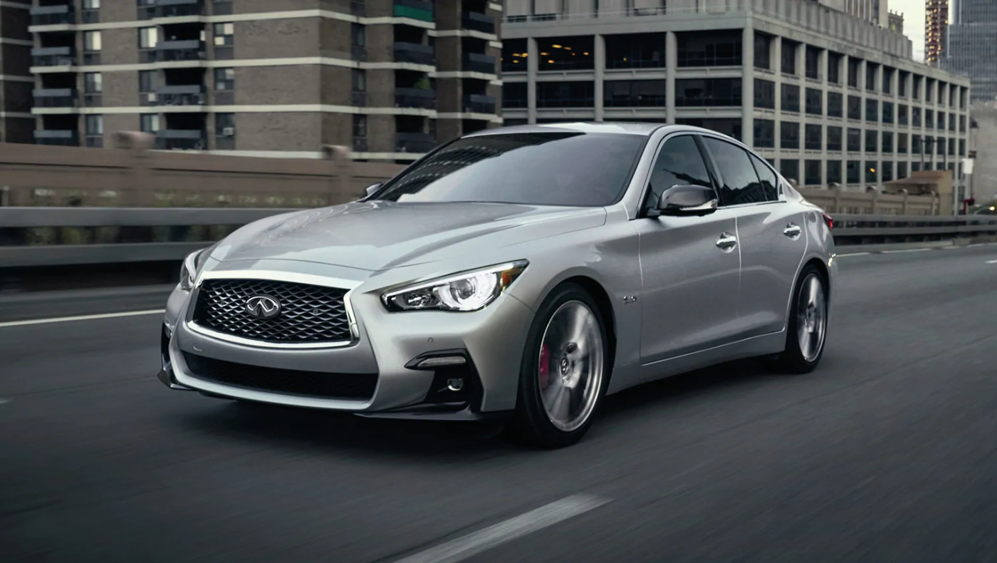The 2020 INFINITI Q50 is available now at Kearny Mesa INFINITI