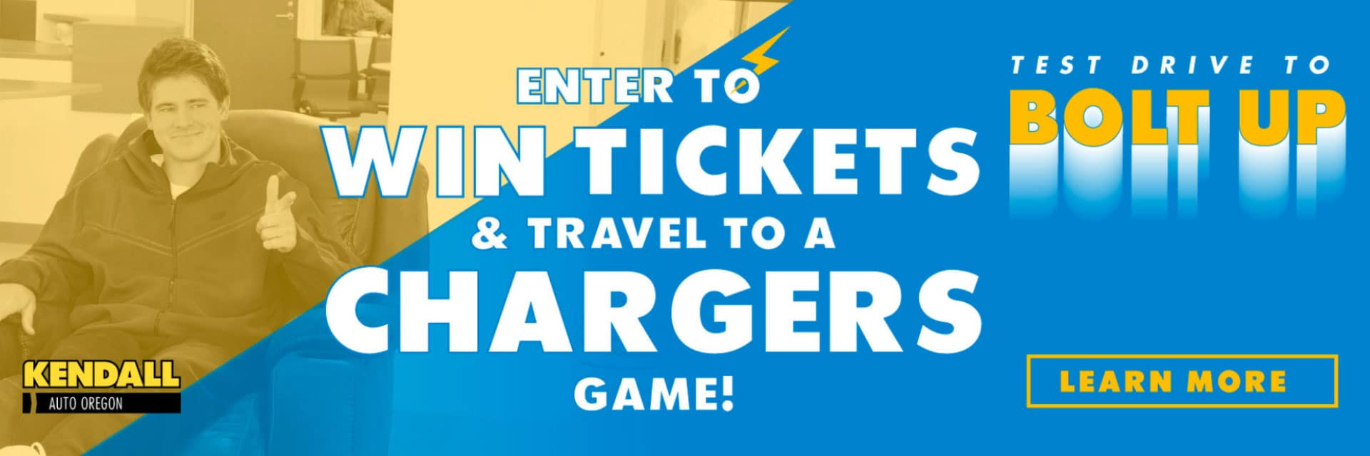 Kendall Chargers Ticket Giveaway