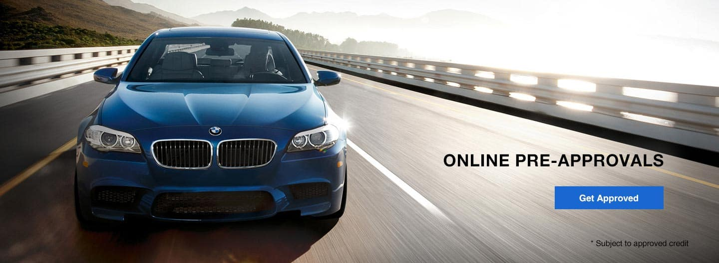 Online BMW Car Loan Preapproval