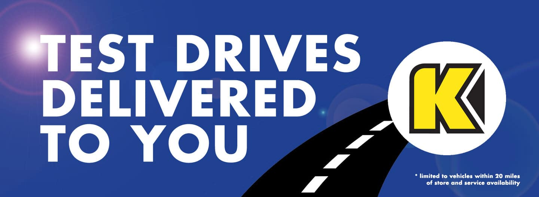 Volkswagen Test Drives Delivered to You
