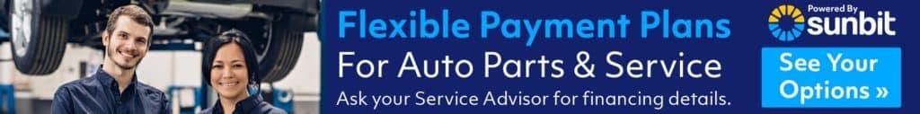Sunbit Service & Parts Financing