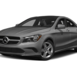 Mercedes-Benz CLA grey