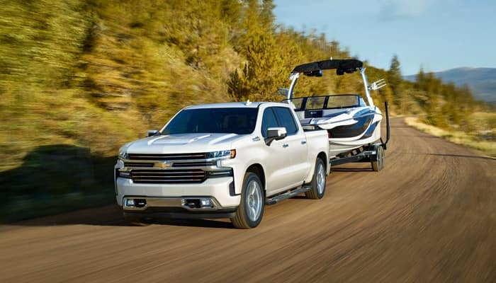 The 2019 Chevrolet Silverado 1500 features best-in-class towing capacity