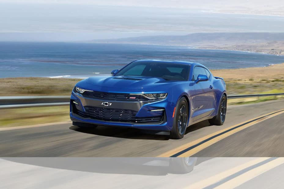 2019 Chevrolet Camaro Driving