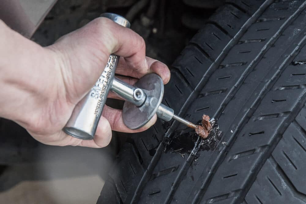 How To Fix A Nail In Your Tire
